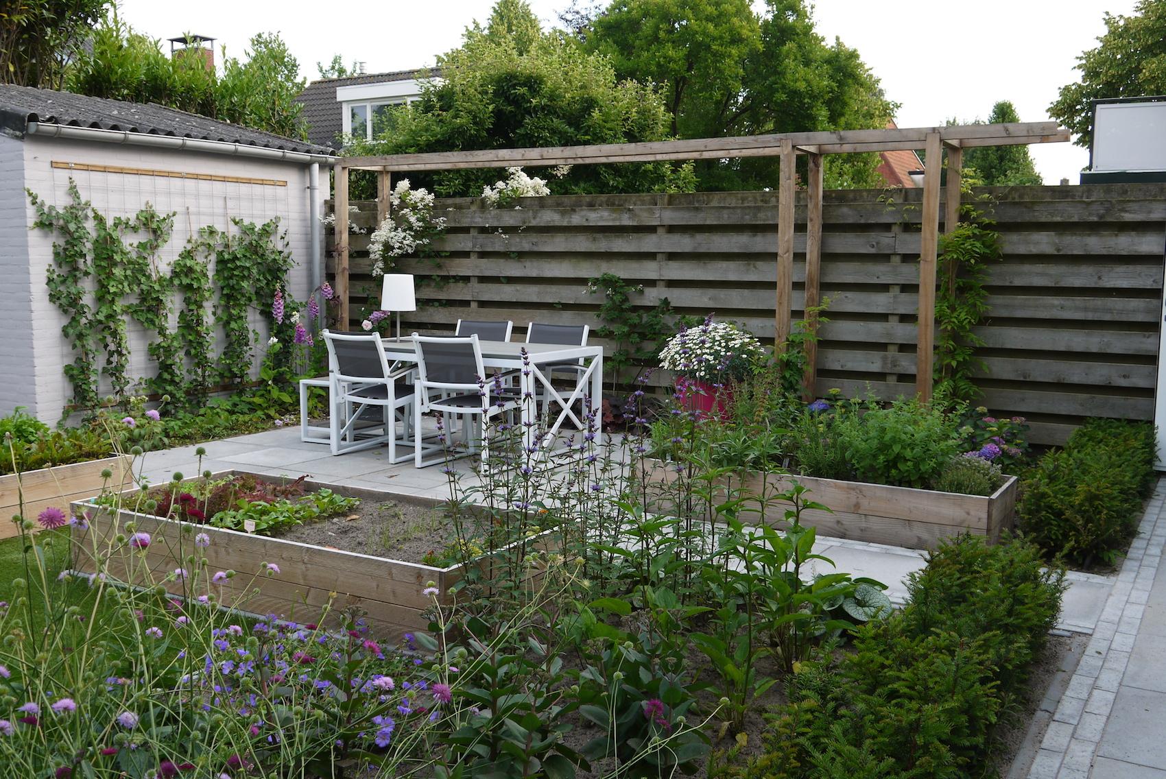 Strakke tuin voor bijen en vlinders hoveniersbedrijf kees koenen
